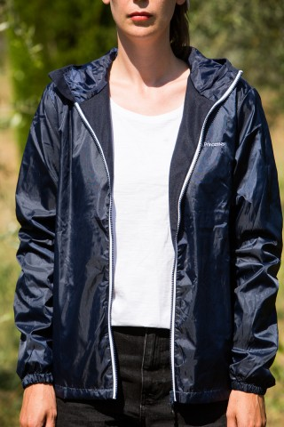 Navy Blue Windbreak